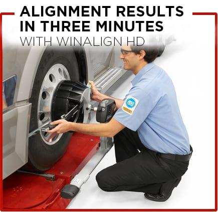 Heavy Duty Wheel Alignment